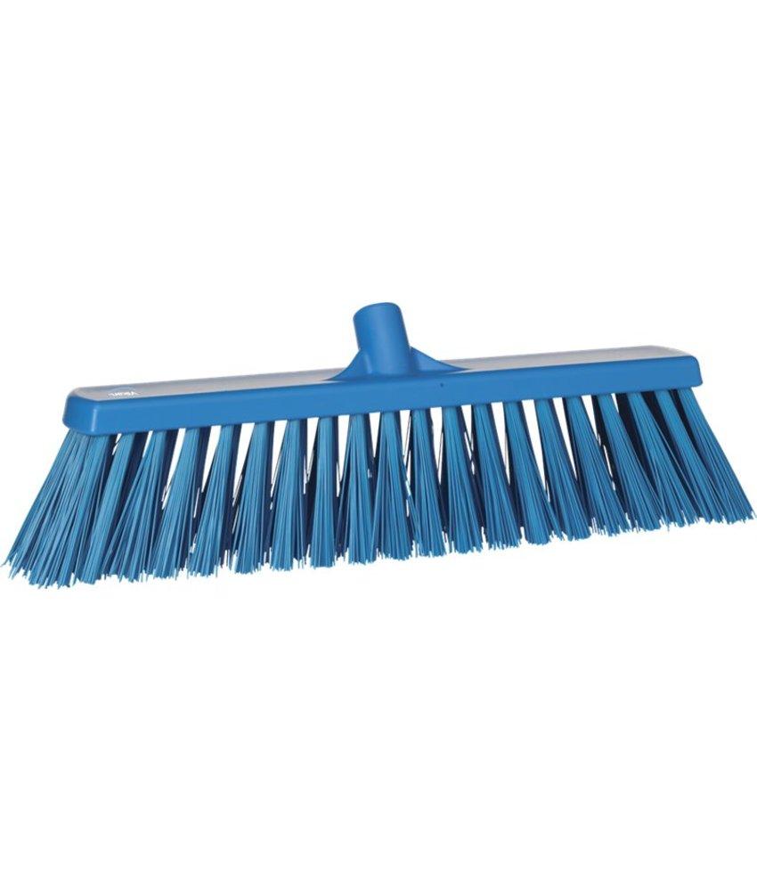 Vikan bezem, 50 cm, hard, blauw