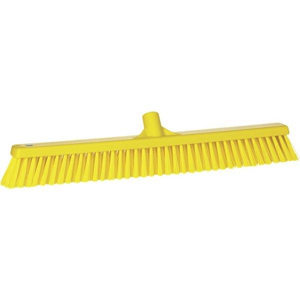 Vikan  combi-veger, 60 cm, geel