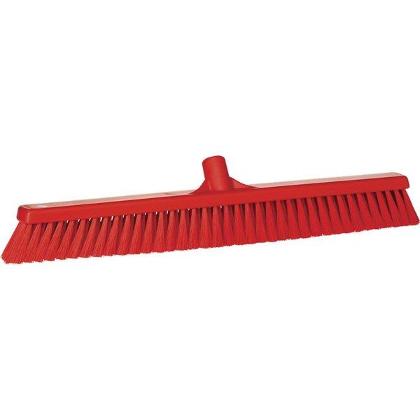 Vikan zachte veger, 60 cm, rood