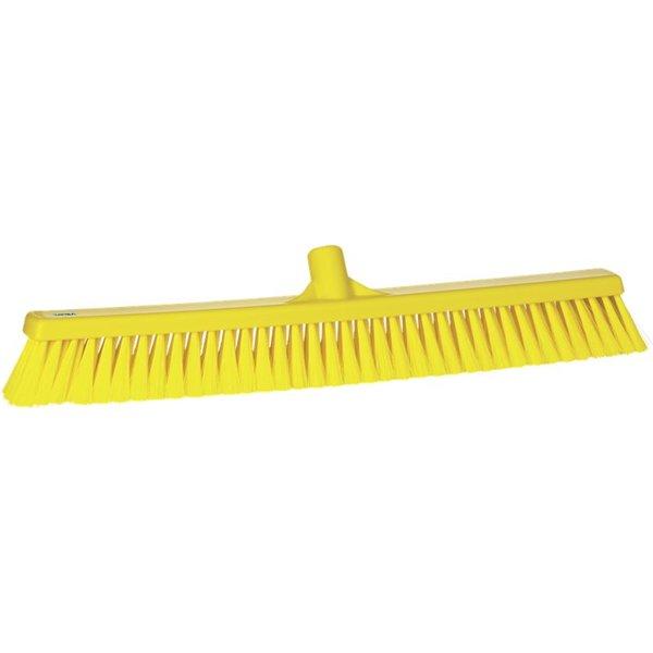 Vikan zachte veger, 60 cm, geel