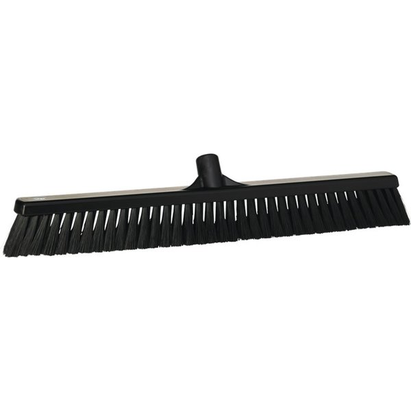 Vikan zachte veger, 60 cm, zwart