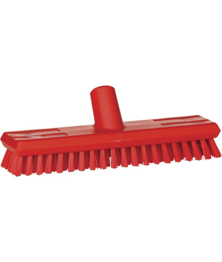 Vikan vloerluiwagen,hard, rood