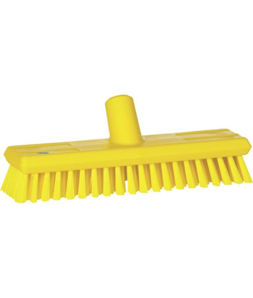 Vikan luiwagen met watertoevoer, medium, geel
