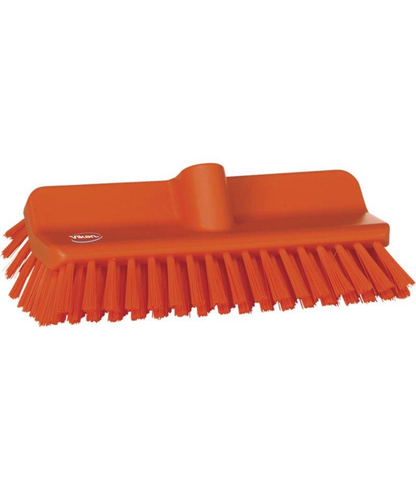 Vikan hoekschrobber hard, oranje