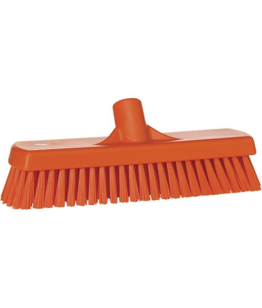 Vikan harde vloerschrobber, oranje