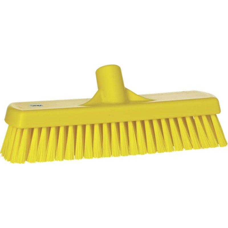 Vikan harde vloerschrobber, geel