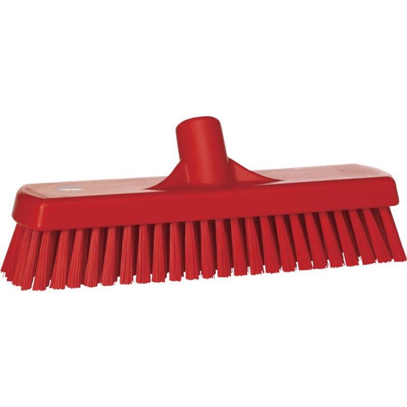 Vikan harde vloerschrobber, rood