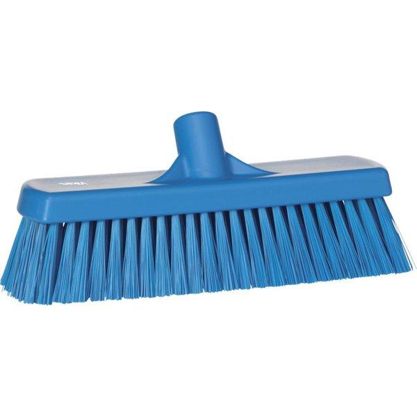 Vikan medium vloerveger, 30 cm, blauw