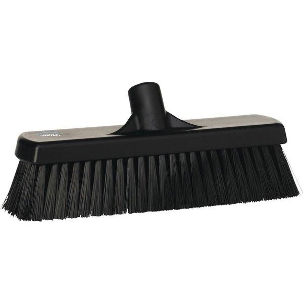 Vikan medium vloerveger, 30 cm, zwart