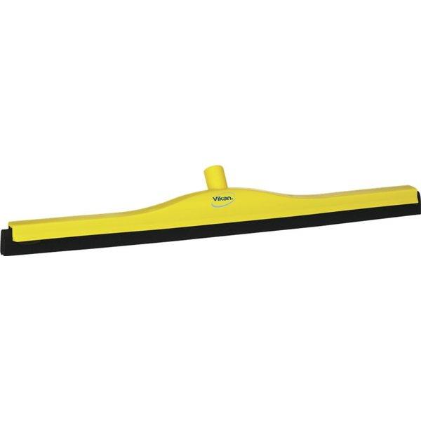 Vikan klassieke vloertrekker, vaste nek, 70 cm, geel
