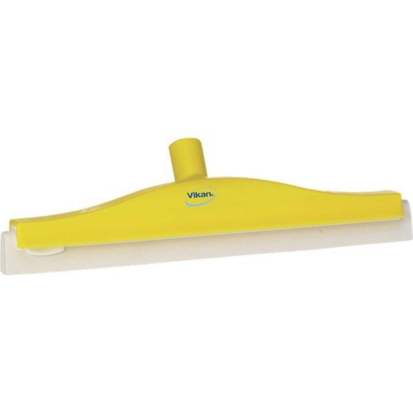 Vikan klassieke vloertrekker, flexibele nek, 40 cm, geel