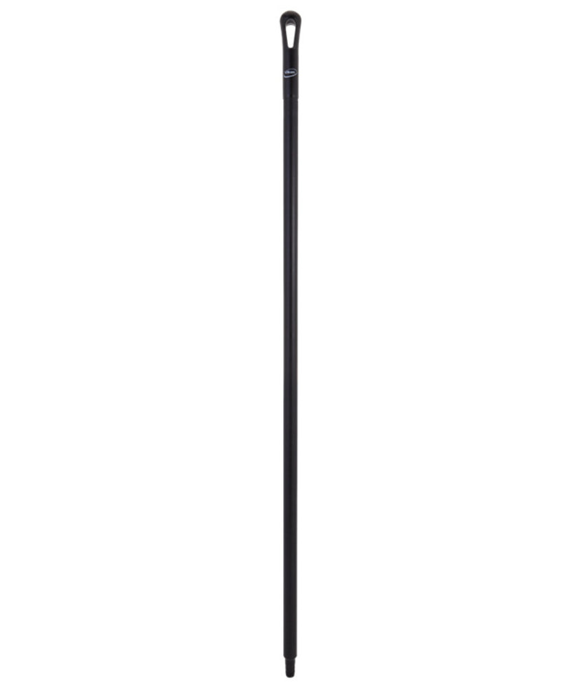 Vikan kunststof steel, 150 cm, zwart,