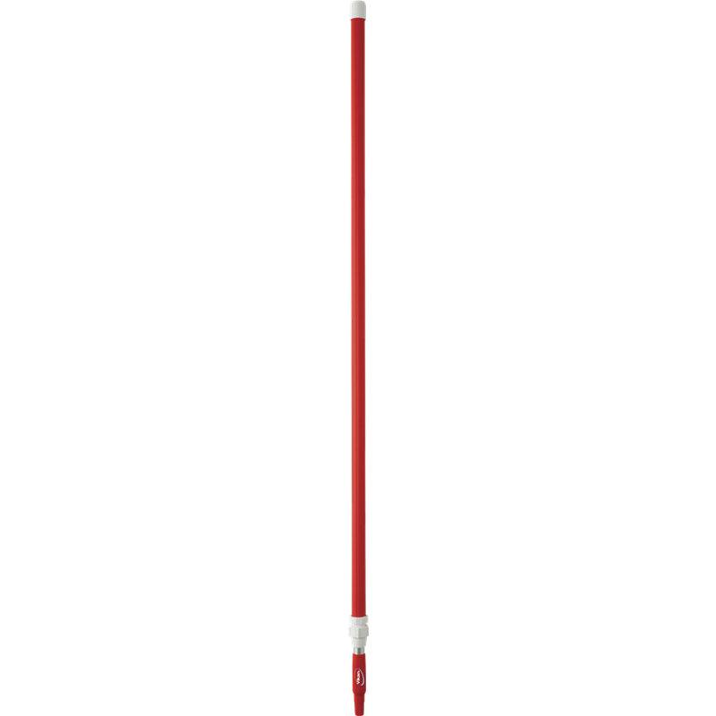 Vikan ergonomische telescopische steel, rood,