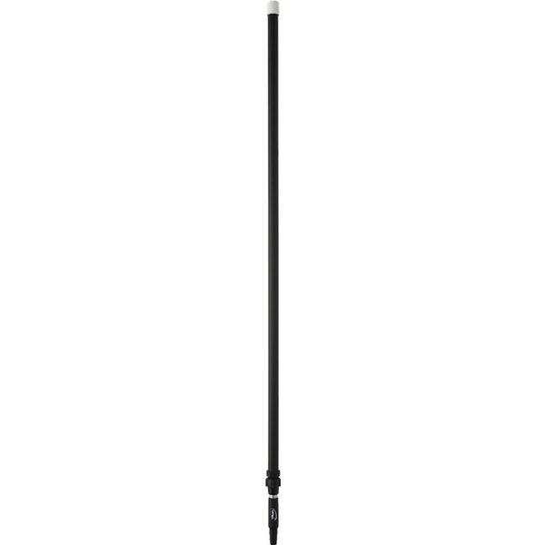 Vikan ergonomische telescopische steel, 1575-2780 mm, zwart,