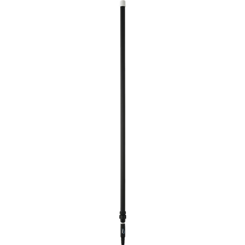 Vikan ergonomische telescopische steel, zwart,