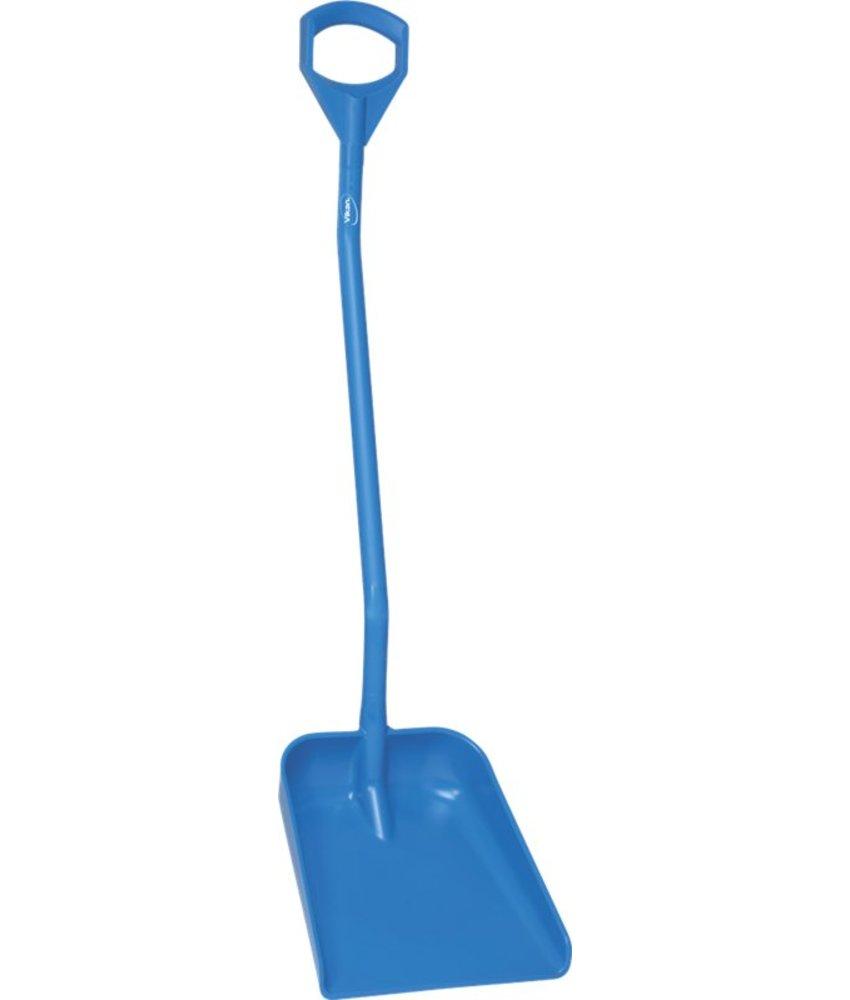 Vikan ergonomische schop met groot blad, steel 1310, blauw,