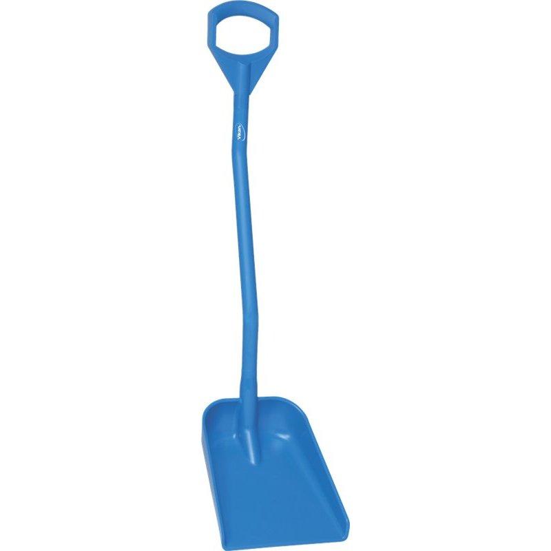 Vikan ergonomische schop met klein blad, blauw,