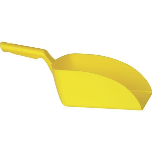 Vikan rechte handschep, groot, 2 liter, geel,