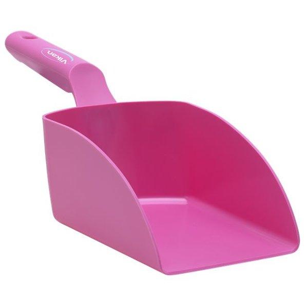 Vikan rechte handschep, groot, 1 liter, roze,