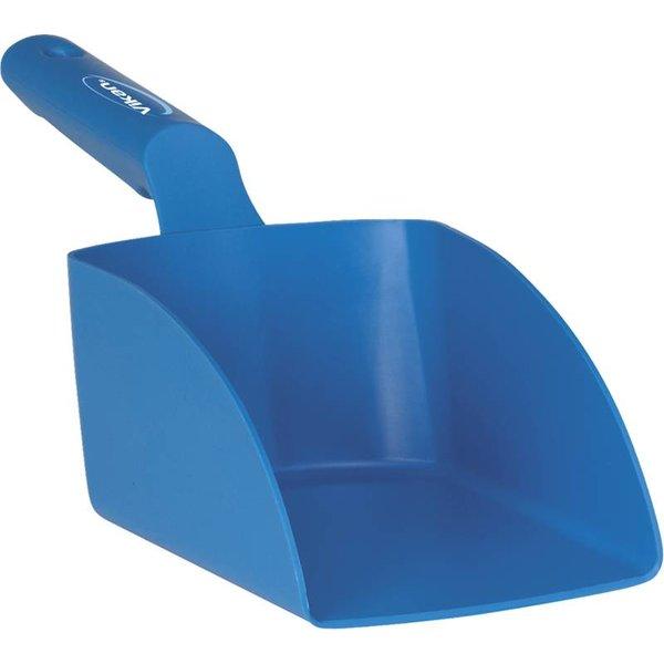 Vikan rechte handschep, groot, 1 liter, blauw,