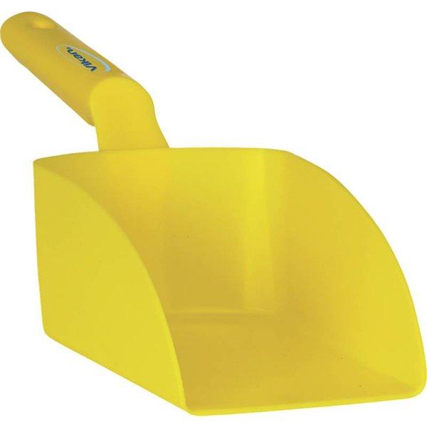Vikan rechte handschep, groot, 1 liter, geel,