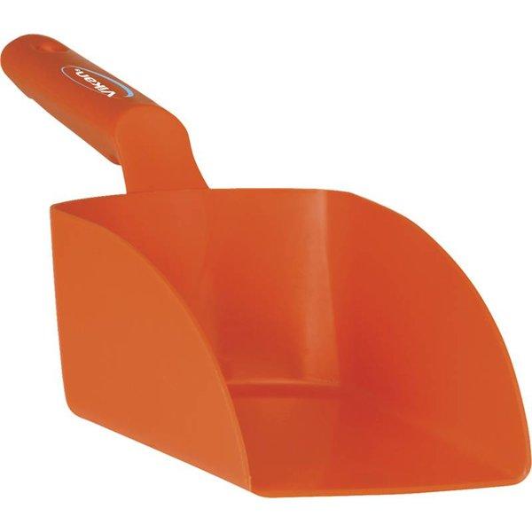 Vikan rechte handschep, groot, 1 liter, oranje,