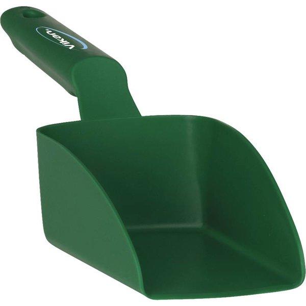 Vikan rechte handschep, klein 0.5 liter, groen,