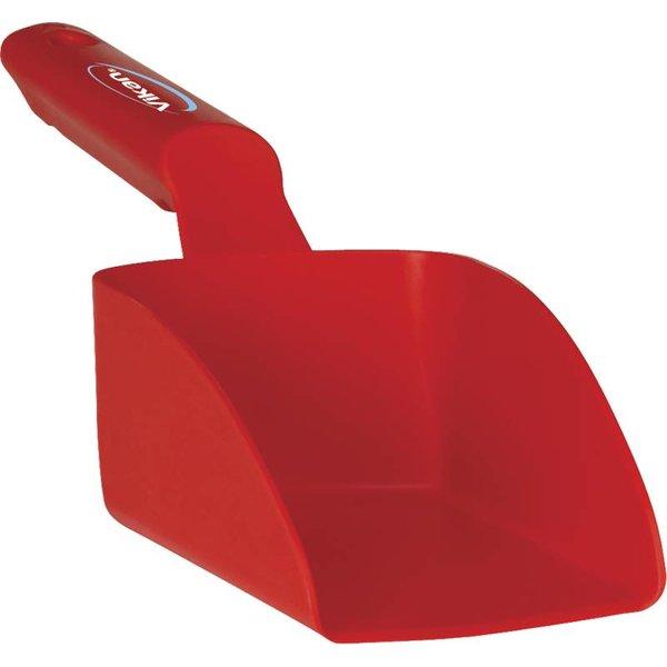 Vikan rechte handschep, klein 0.5 liter, rood,