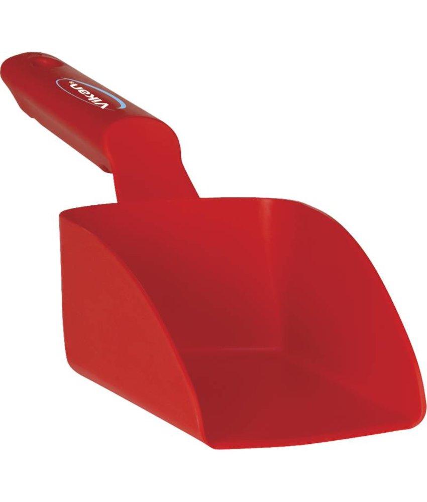 Vikan handschep, 0.5 liter, rood,