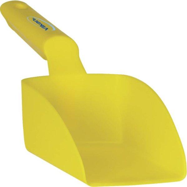 Vikan rechte handschep, klein 0.5 liter, geel,