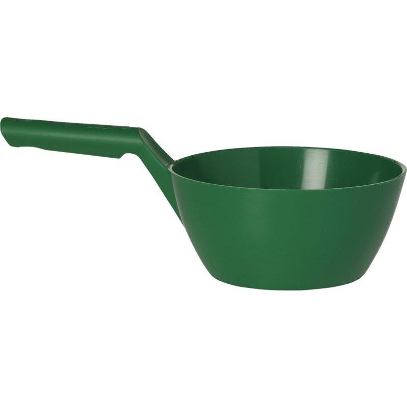 Vikan ronde schepbak, 1 liter, groen