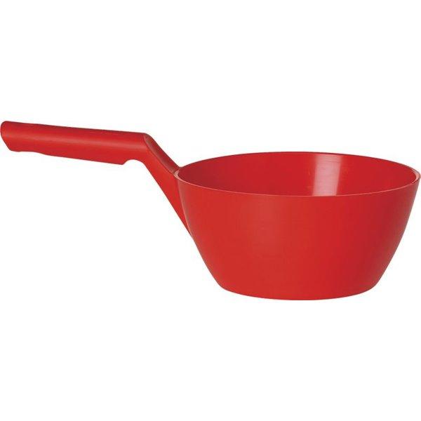 Vikan ronde schepbak, 1 liter, rood,