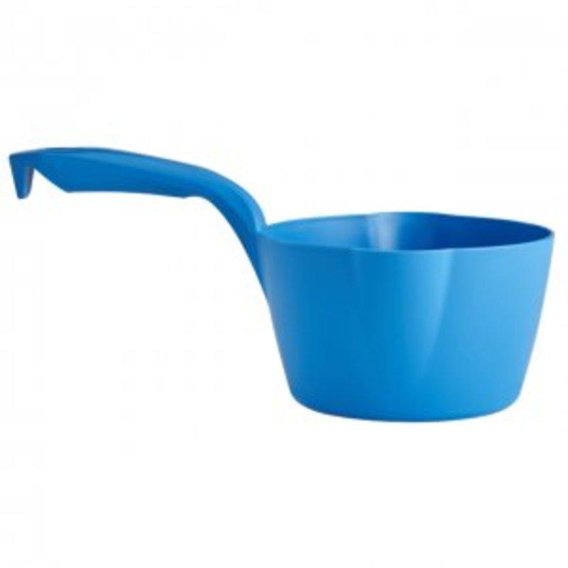 Vikan ronde schepbak, 1 liter, blauw,