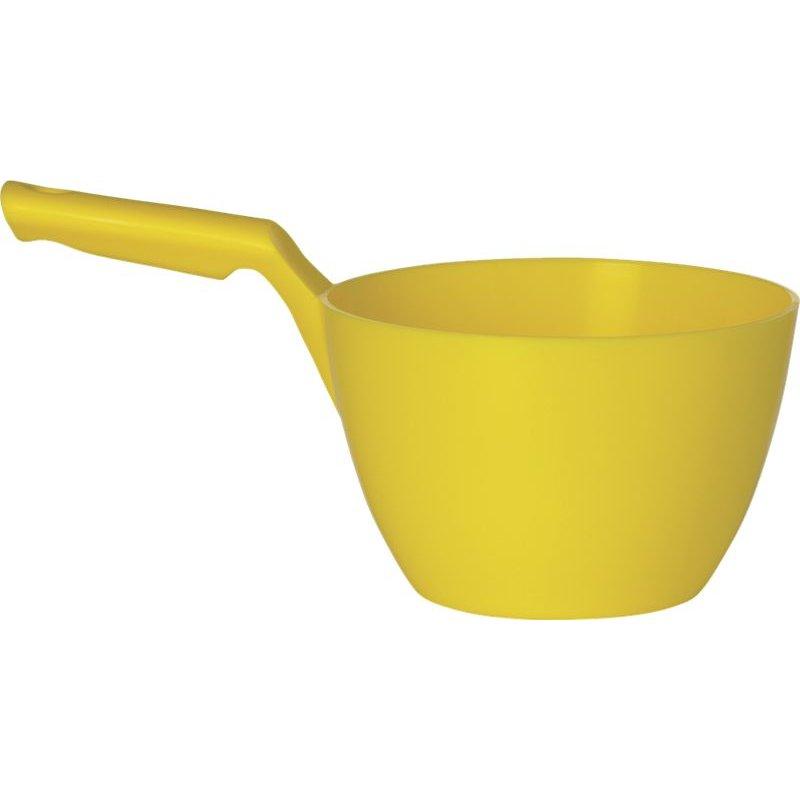 Vikan ronde schepbak, 2 liter, geel,