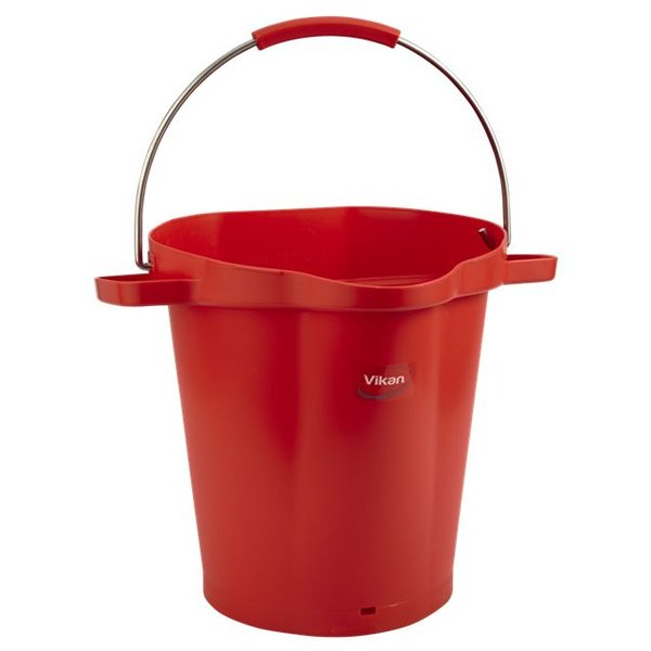Vikan emmer, 20 liter, rood,