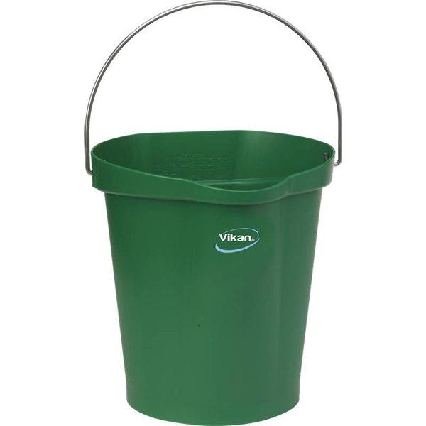 Vikan emmer, 12 liter, groen,