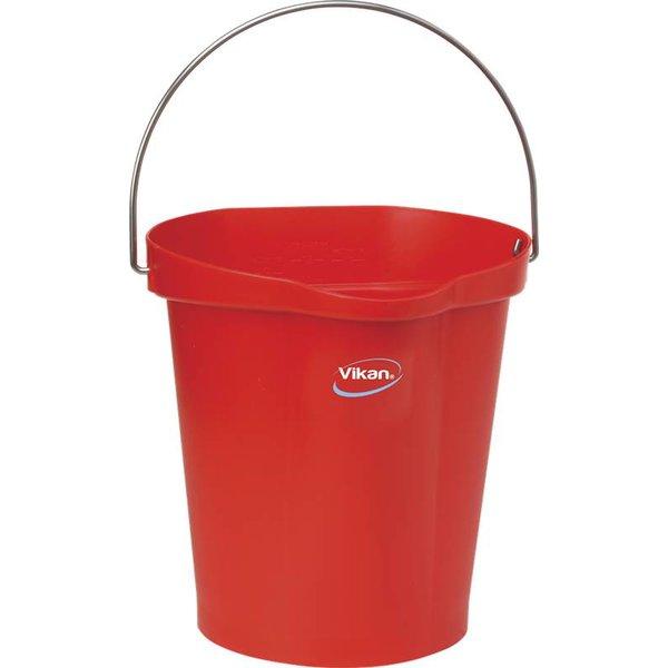 Vikan emmer, 12 liter, rood,