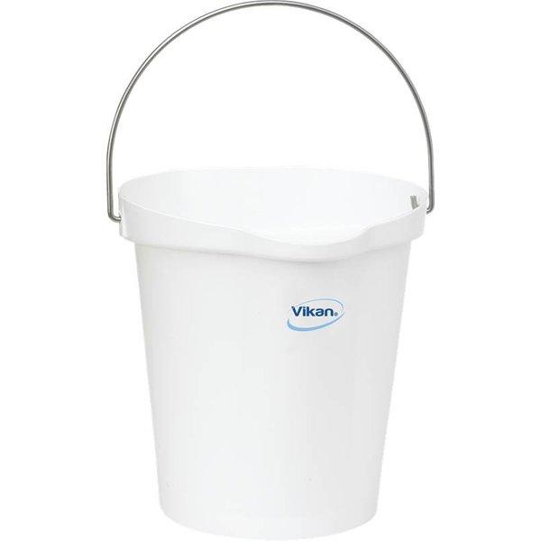 Vikan emmer, 12 liter, wit,