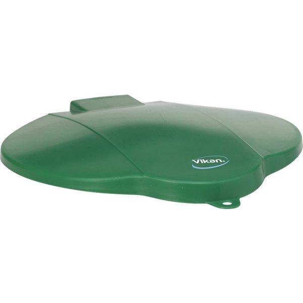 Vikan emmerdeksel, 12 liter, groen,