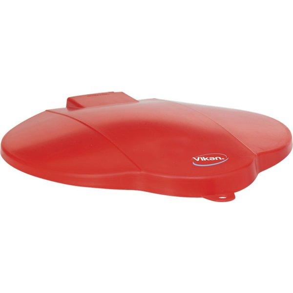 Vikan emmerdeksel, 12 liter, rood,