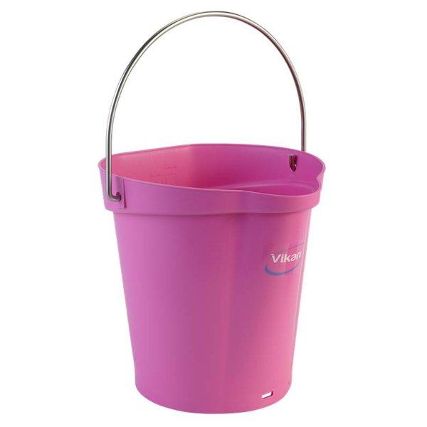 Vikan emmer, 6 liter, roze,