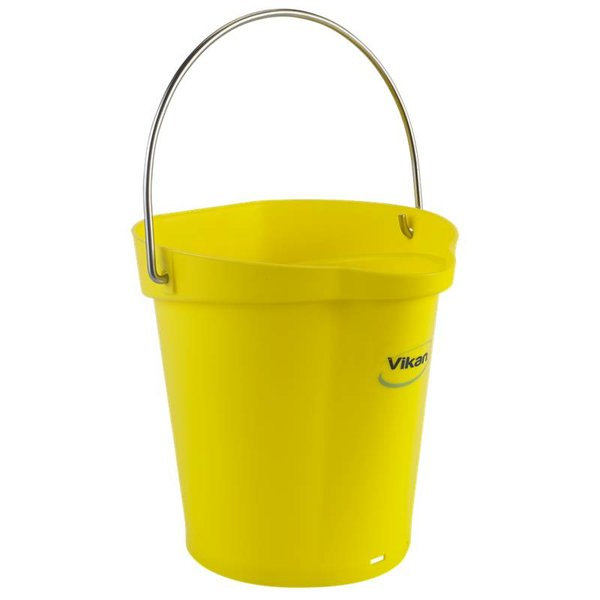 Vikan emmer, 6 liter, geel