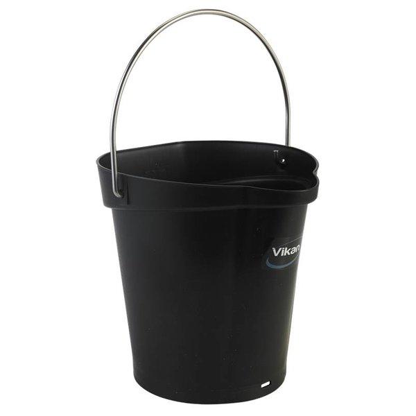 Vikan emmer, 6 liter, zwart,