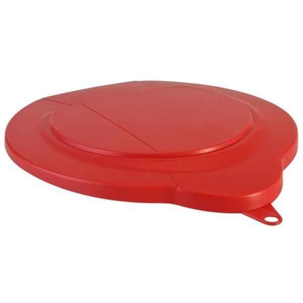 Vikan emmerdeksel, 6 liter, rood,
