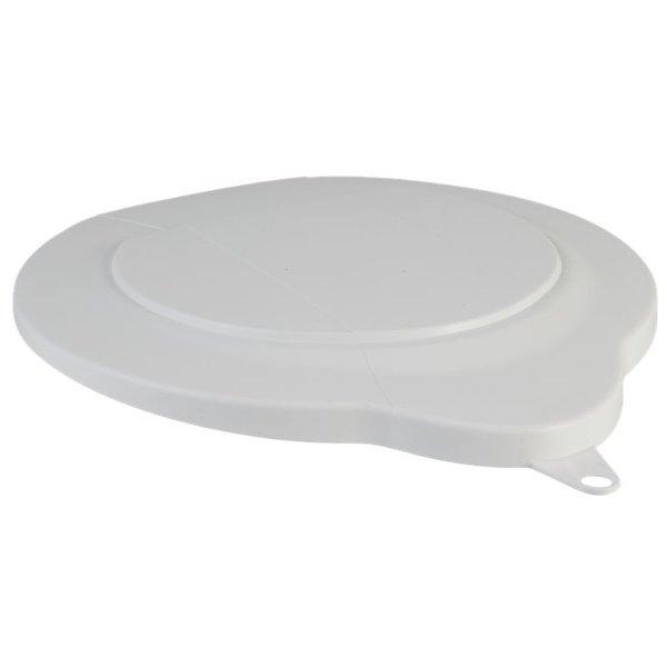 Vikan emmerdeksel, 6 liter, wit,