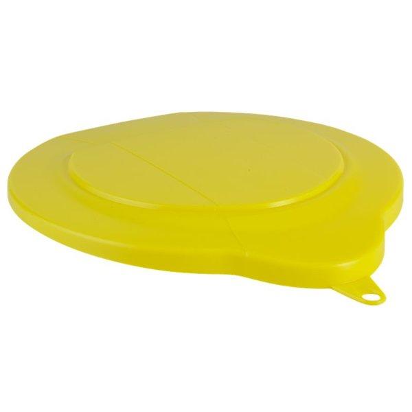 Vikan emmerdeksel, 6 liter, geel,