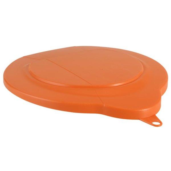 Vikan emmerdeksel, 6 liter, oranje,