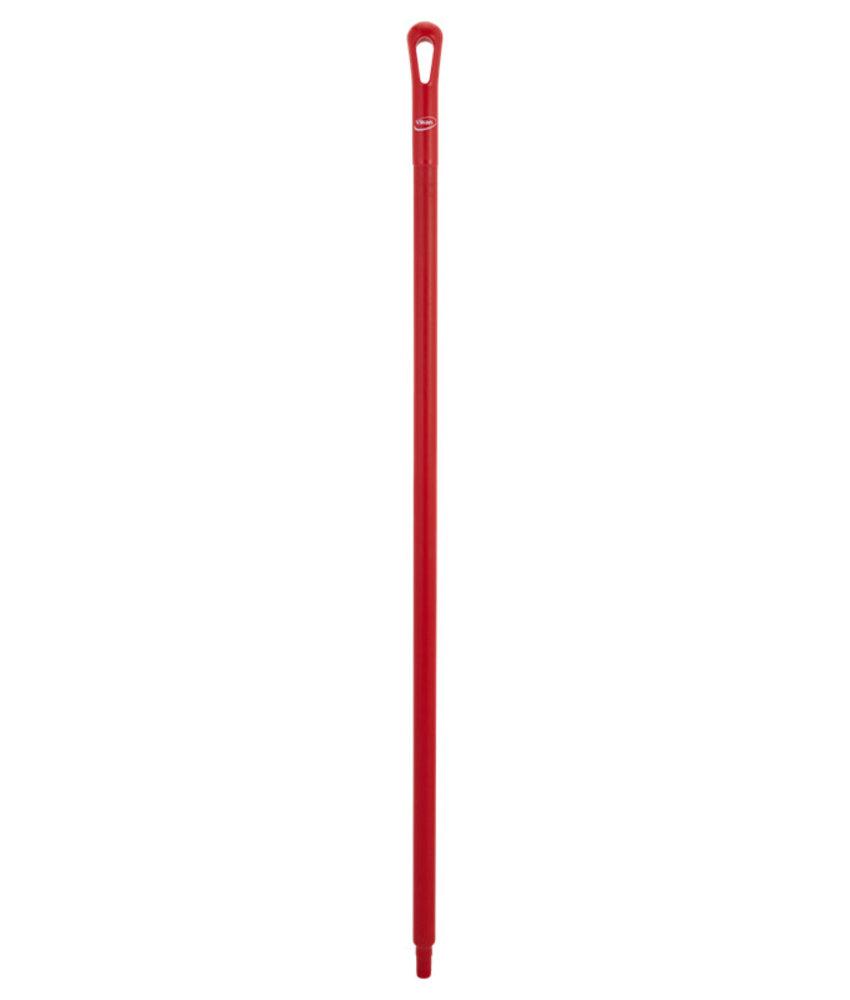 Vikan kunststof steel, 130 cm, rood,