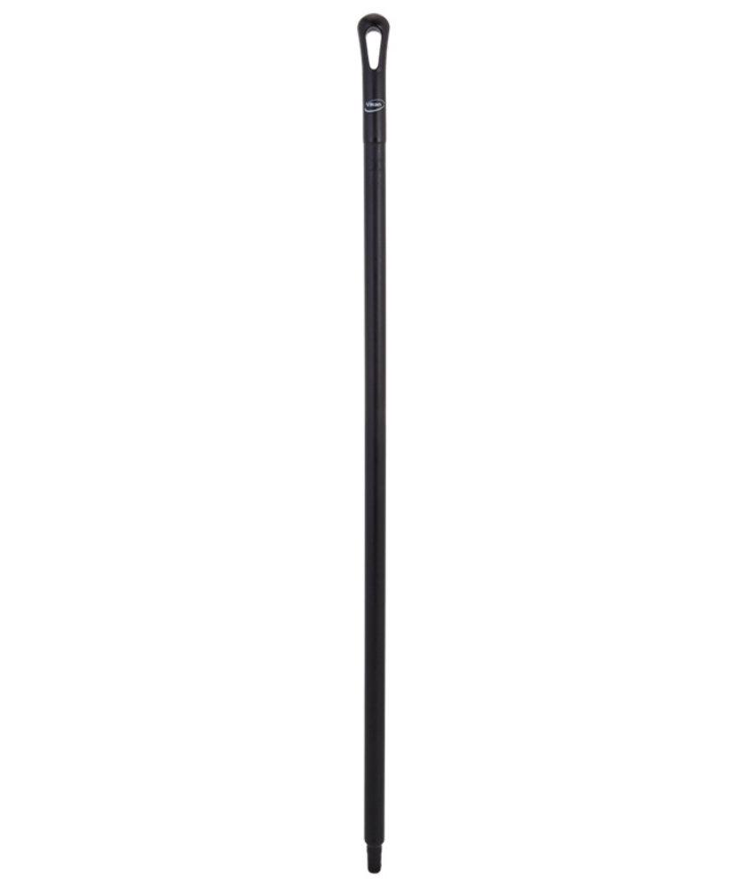 Vikan steel, 130 cm, zwart,
