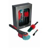 Vikan actiepakket Vikan, handborstel, velgborstel en interieurkwastje,